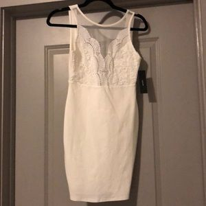 Lulus Lace Top Dress
